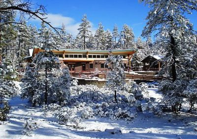 Highlands Center in Winter