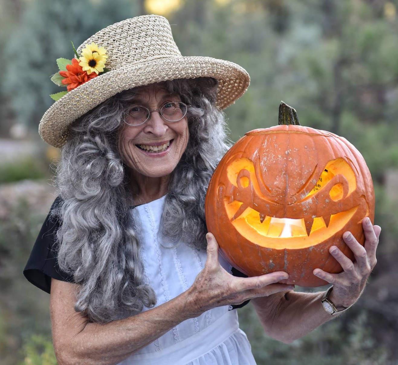 Joan Dukes Halloween Pumpkin