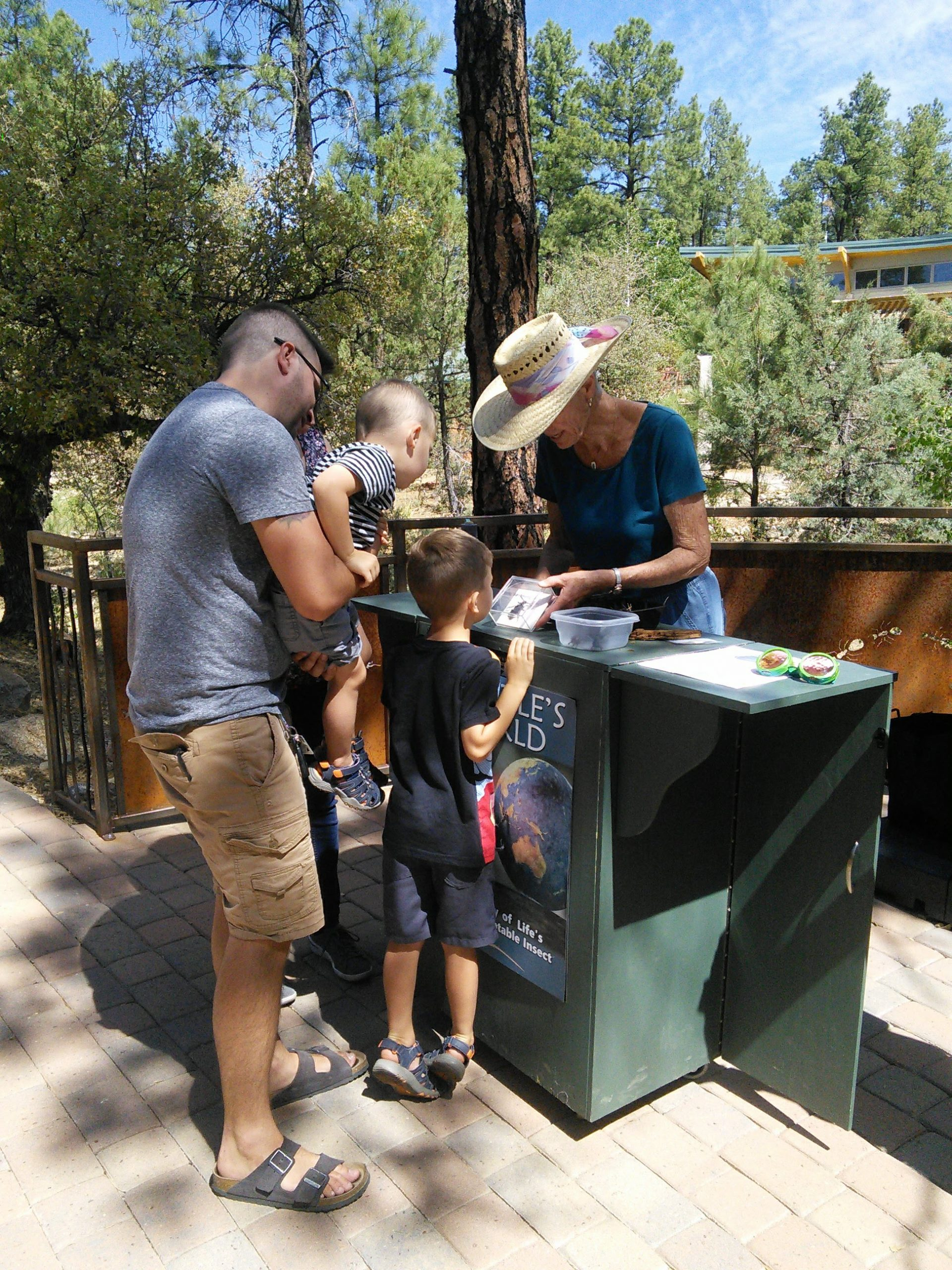 Family Events in the Discovery Gardens