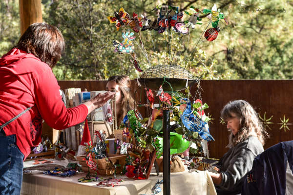 Shoppers at the Highlands Holiday Bazaar